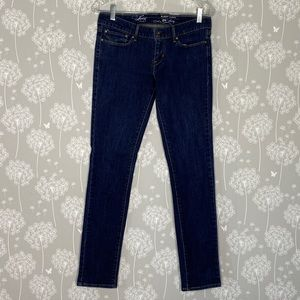 Levi's Jeans Size 28 Blue Skinny Slight Curve